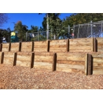Timber Sleeper Walls